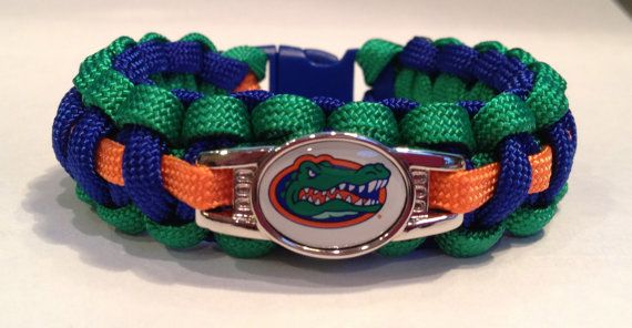 Football Paracord Bracelet Made with by NaNasCraftCreations, $16.00