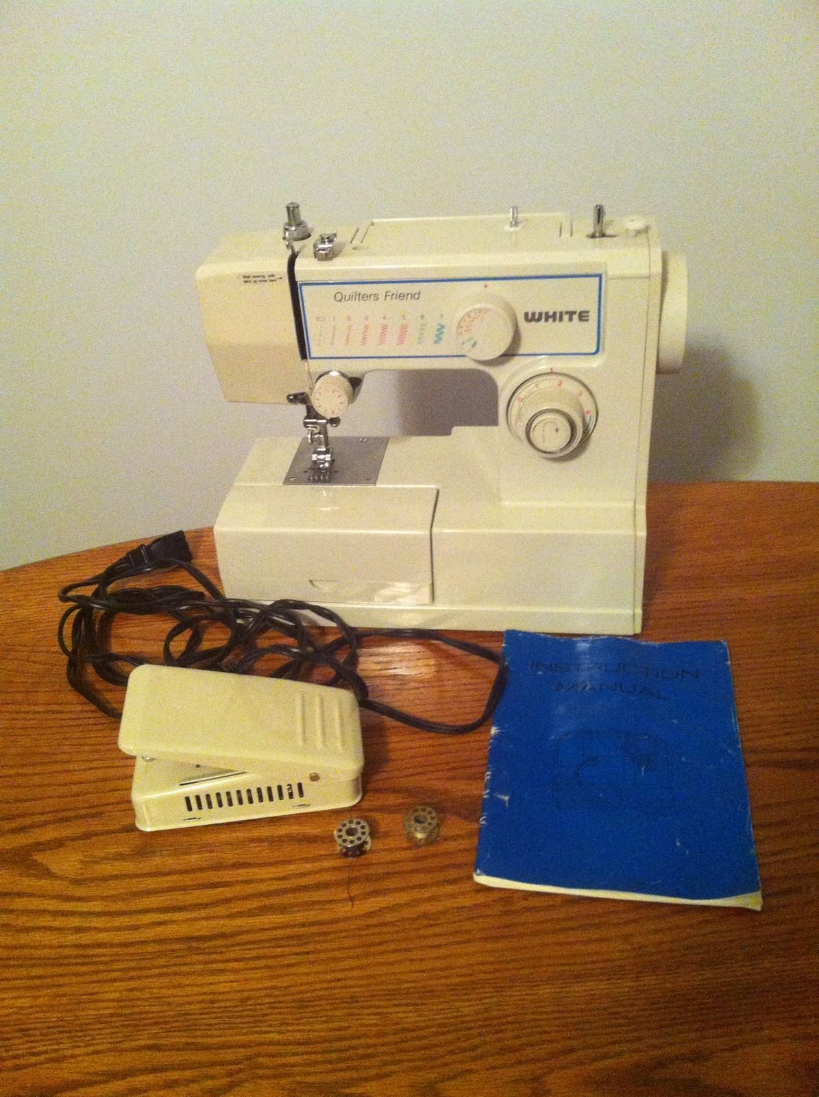 Quilters Friend White Sewing Machine Model 221N | eBay (also known as JC  General model