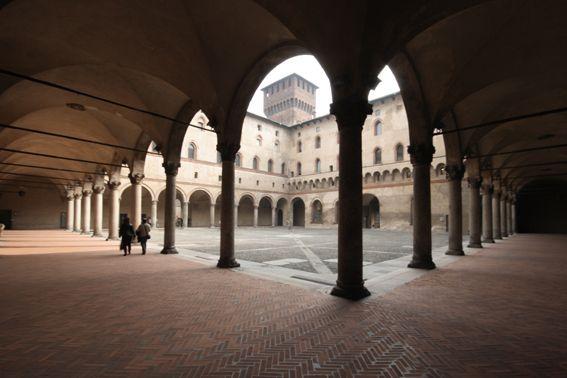 Milan, in the Sala Pilastri of the Castello Sforzesco