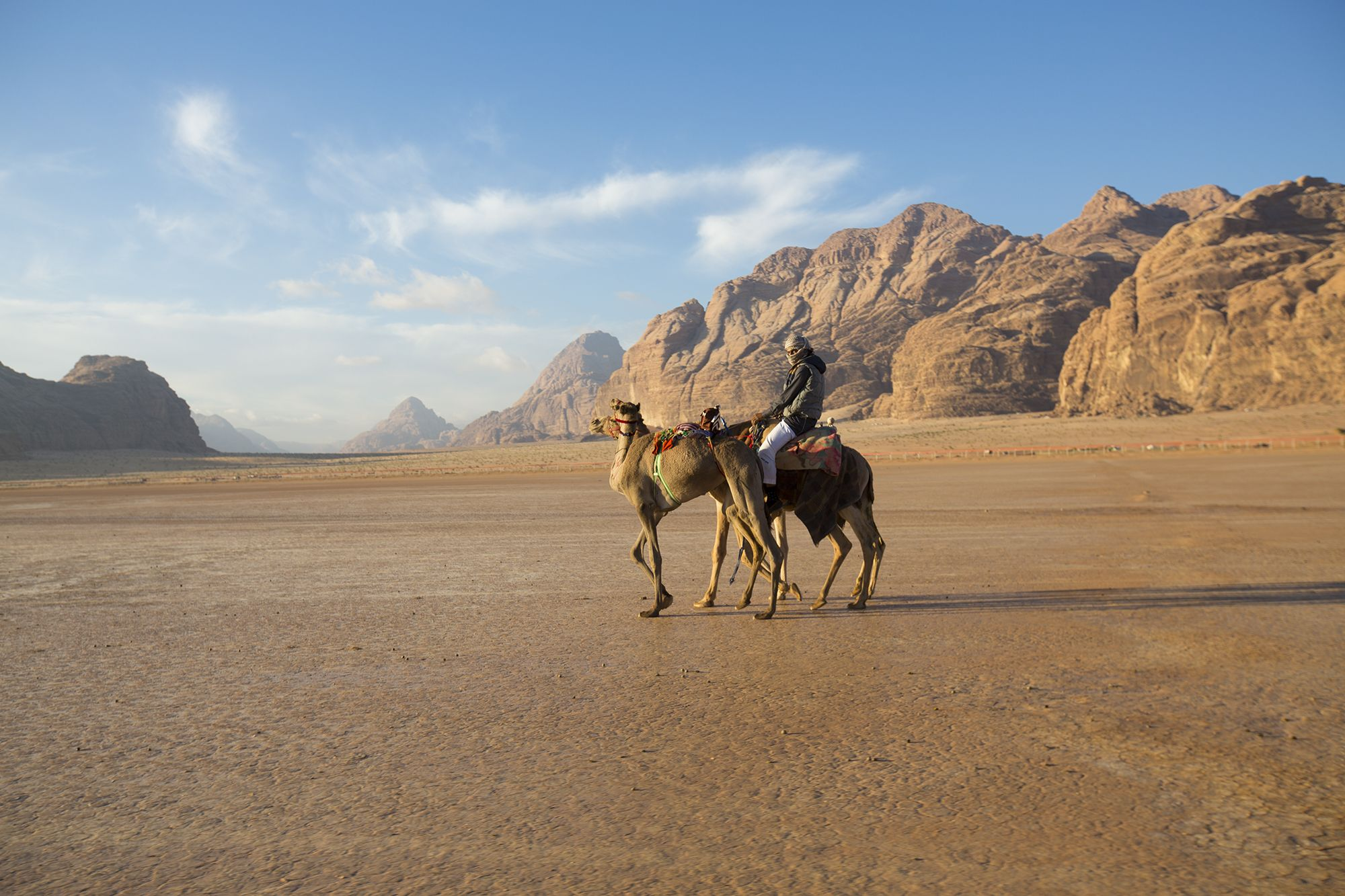An improbable trip through Jordan reveals that the country has its own way of working things out.