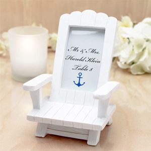 Adirondack Chair Place Card Holder - Beach Theme Wedding Favors - Wedding Favor Themes - Wedding Favors u0026 Party Supplies - Favors and Flowers & Adirondack Chair Place Card Holder - Beach Theme Wedding Favors ...