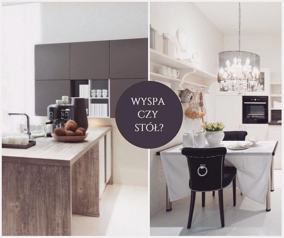 Funkcjonalna Kuchenna Wyspa Czy Klasyczny Stol Ktora Opcje Preferujecie Bogaccypl Kuchnie Nowakuchnia Inspiracja Inspiracje Ins Home Decor Home Kitchen