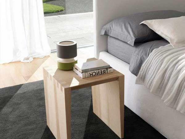 Integrati nel letto, semplici e lineari. Come sono I COMODINI ...