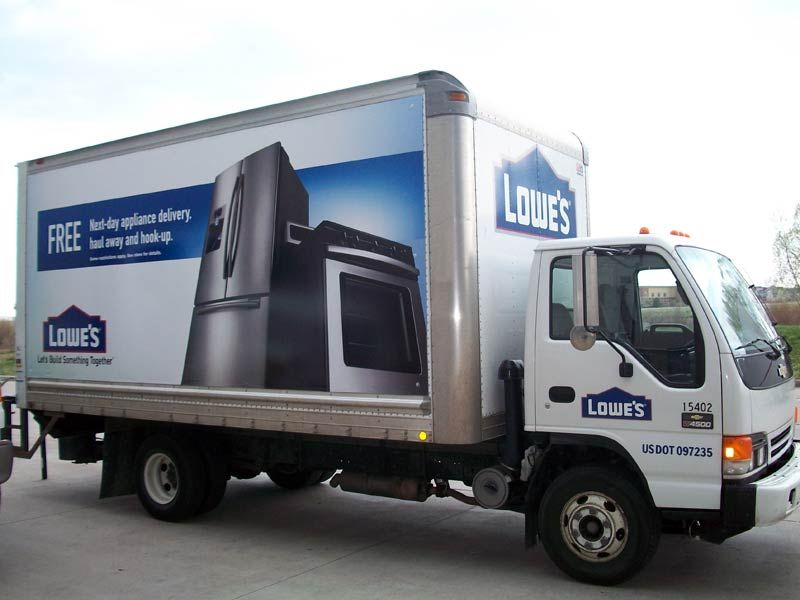 Lowes  Delivery Truck