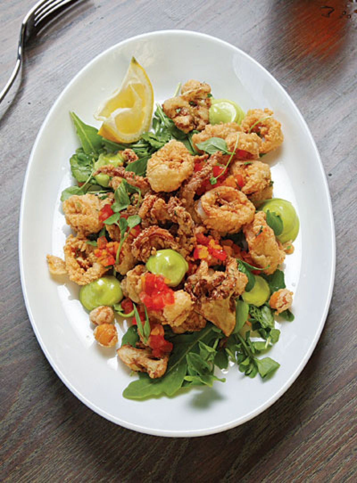 Crispy Calamari With Pesto Mayonnaise Recipe