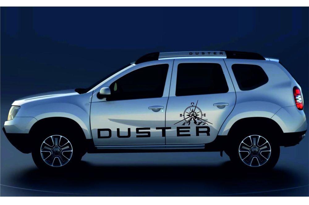 Aufkleber Dacia Duster Adventure Ref 54 4x4 Racing Tuning Rally Aufkleber Sport