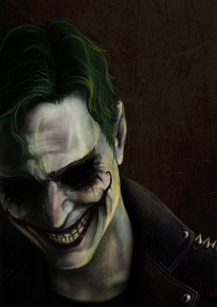 DC Comics — longlivethebat-universe: The Joker by Vanessa...