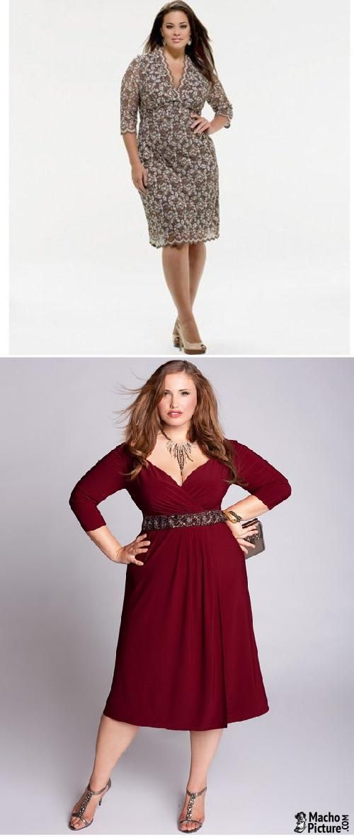 Plus size dresses for women - 3 PHOTO!