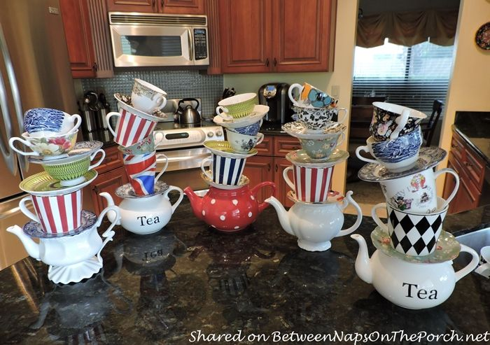 We 39 re all quite mad here an alice in wonderland mad - Mad hatter tea party decoration ideas ...