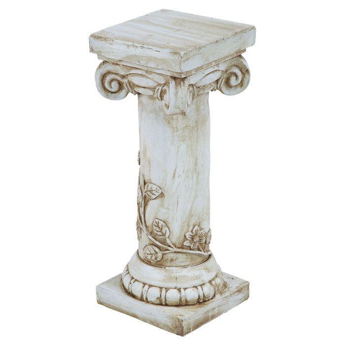 Regio column indoor outdoor plant stand home decor pinterest outdoor plant stands indoor - Plant pedestal indoor ...