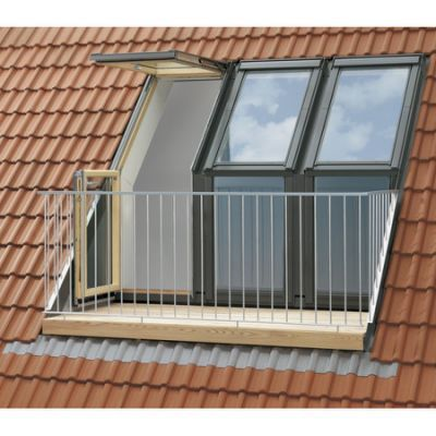 Velux Cabrio Balcony Roofing Pinterest Balconies Attic And