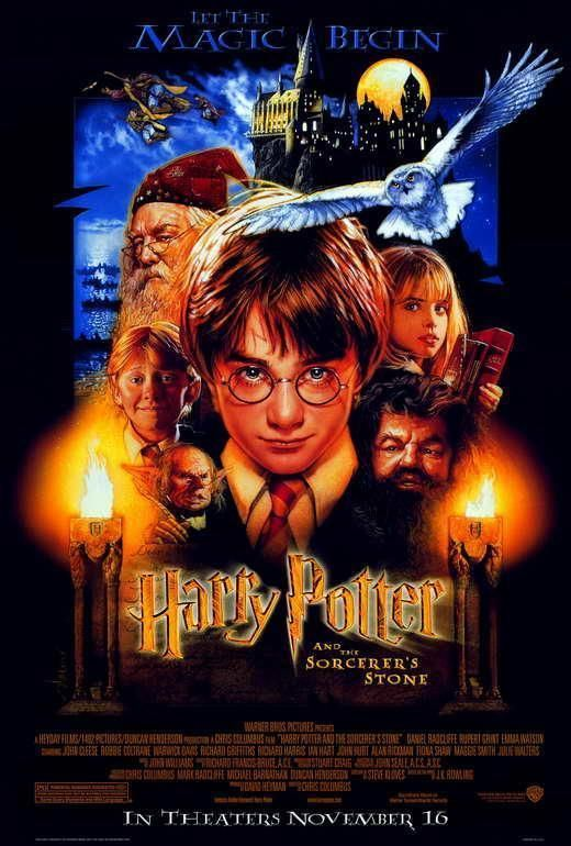 Harry Potter And The Sorcerer S Stone Movie Poster 27 X 40 A