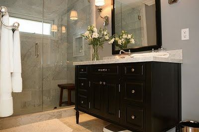 Love this bathroom. By Jeff Lewis Design (Flipping Out on ...