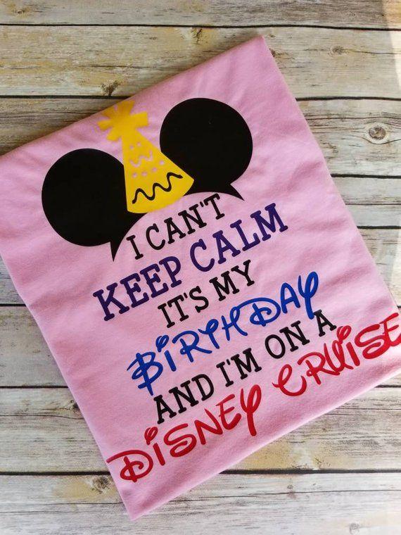 Disney Birthday Shirt