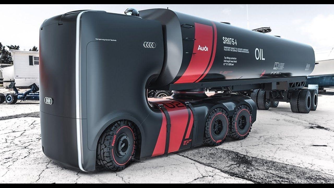 caminhões futuristas