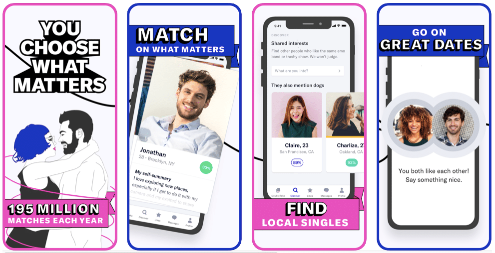Top 10 Apps Like Tinder for Android and iOS in 2020 Like