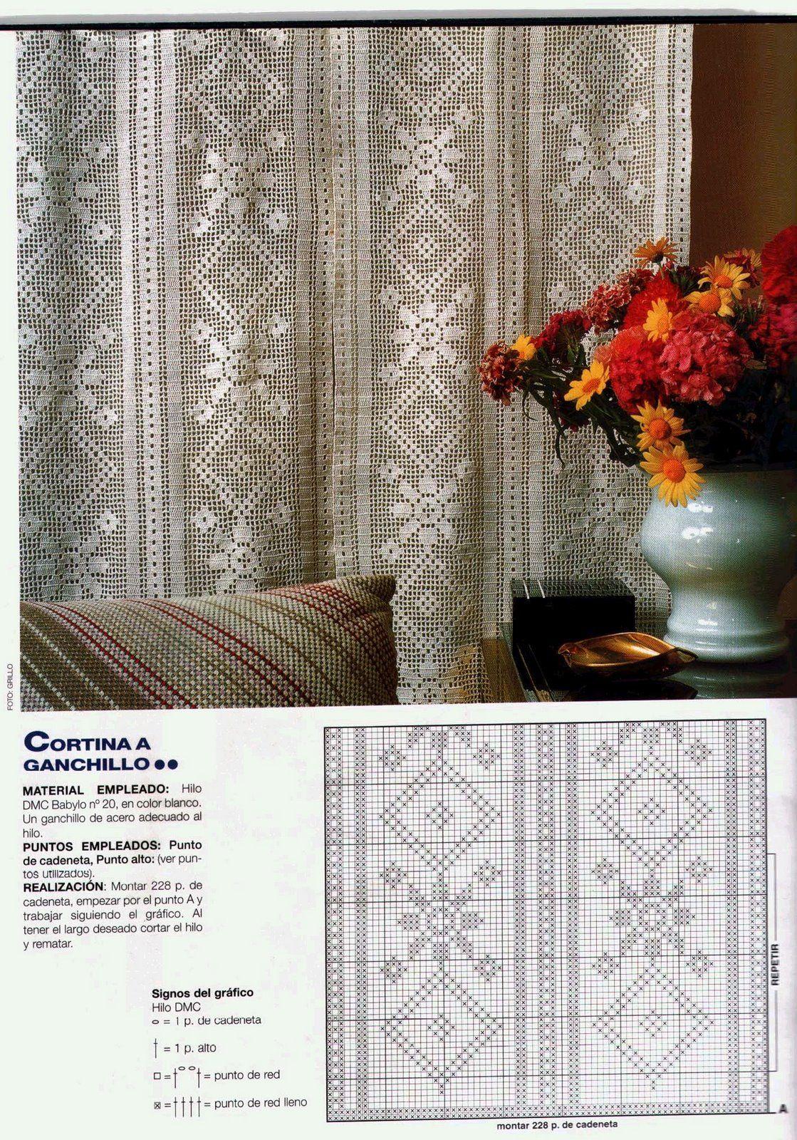gardine vorh nge crochet pinterest h keln gardinen h keln und stricken. Black Bedroom Furniture Sets. Home Design Ideas