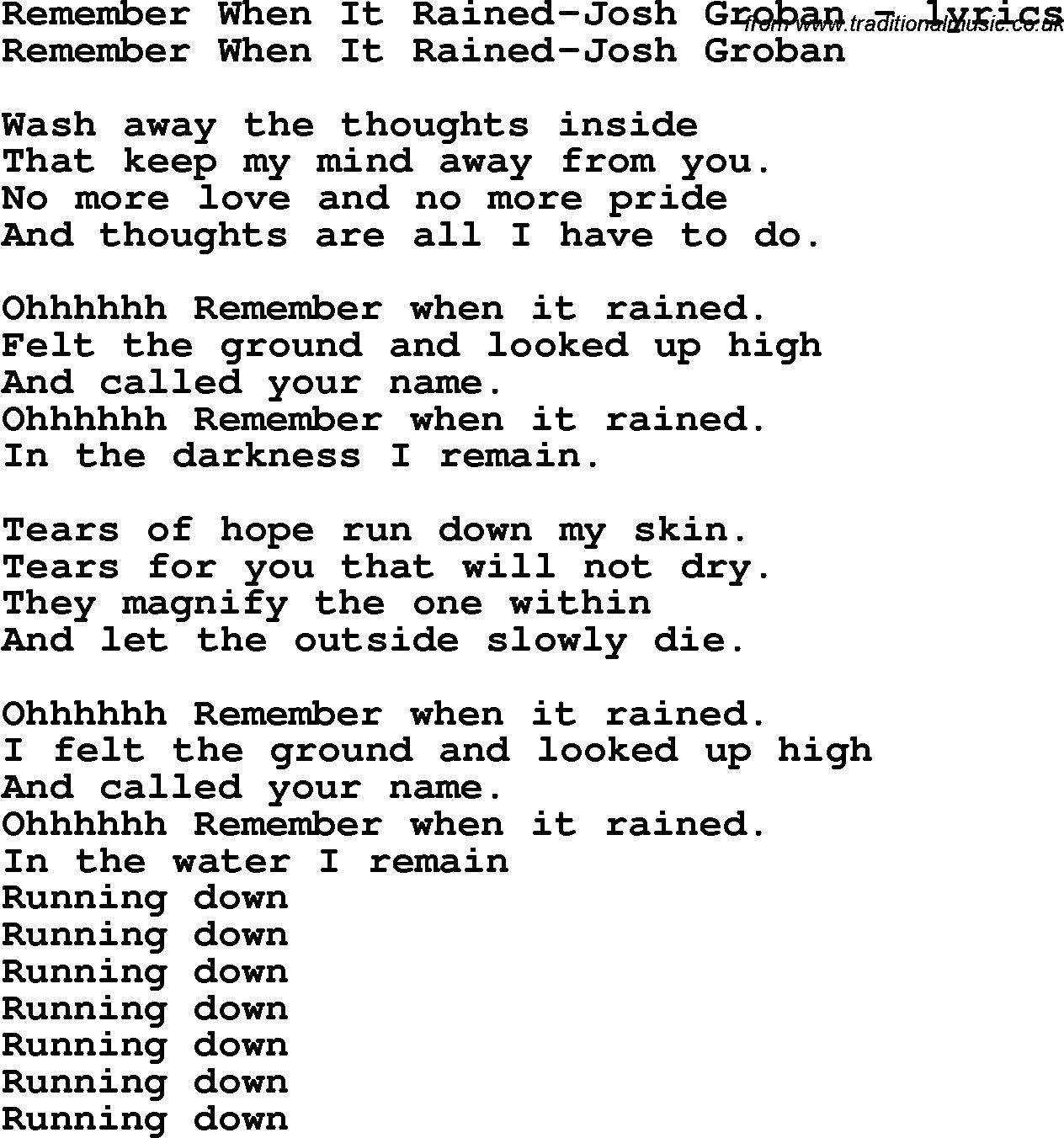 Remember Me Lyrics Sheet Music