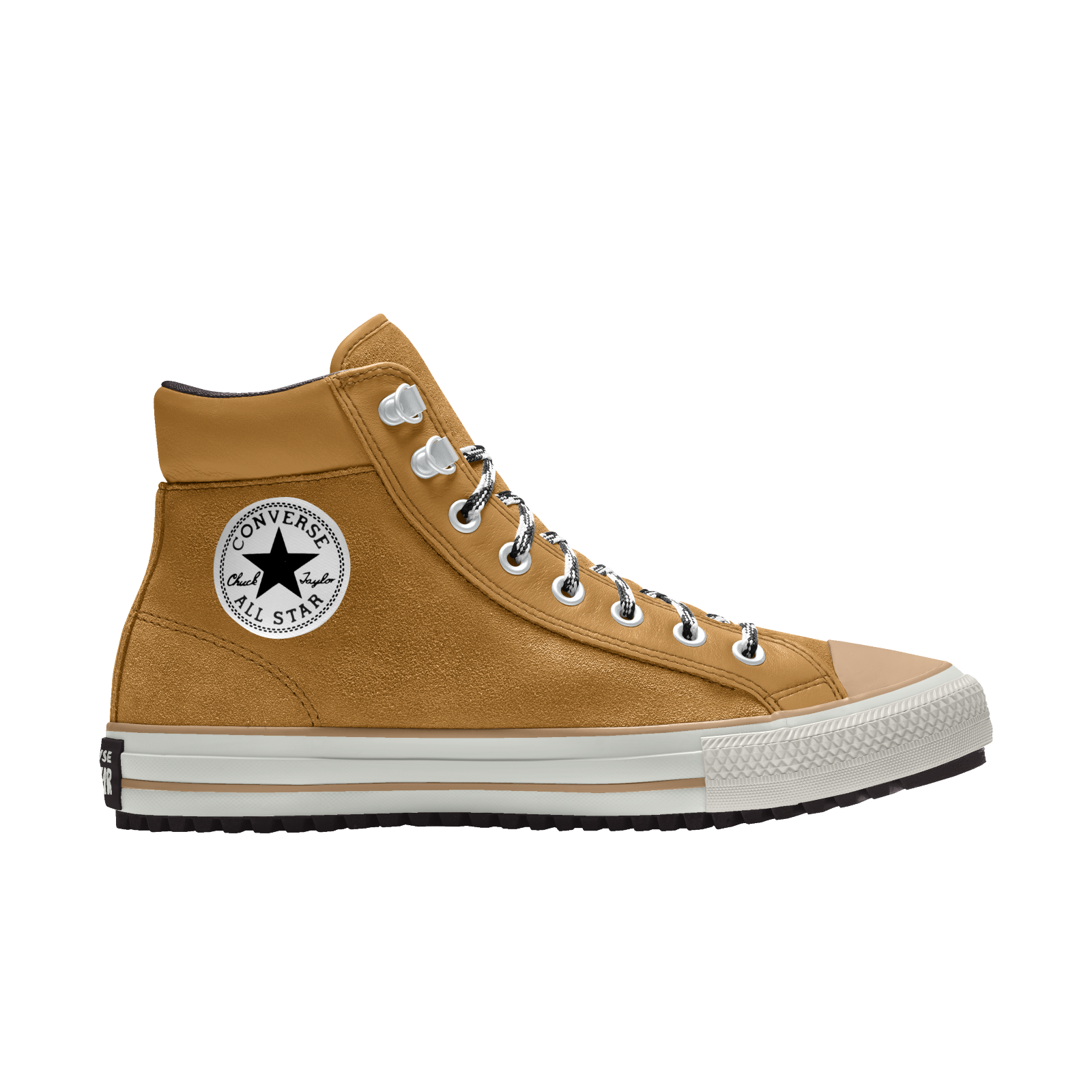 Custom Chuck Taylor PC Boot | Chuck taylor boots, Leather shoes ...