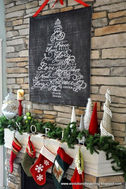 38 Country Ways to Add Christmas Cheer to Your Mantel Mantels