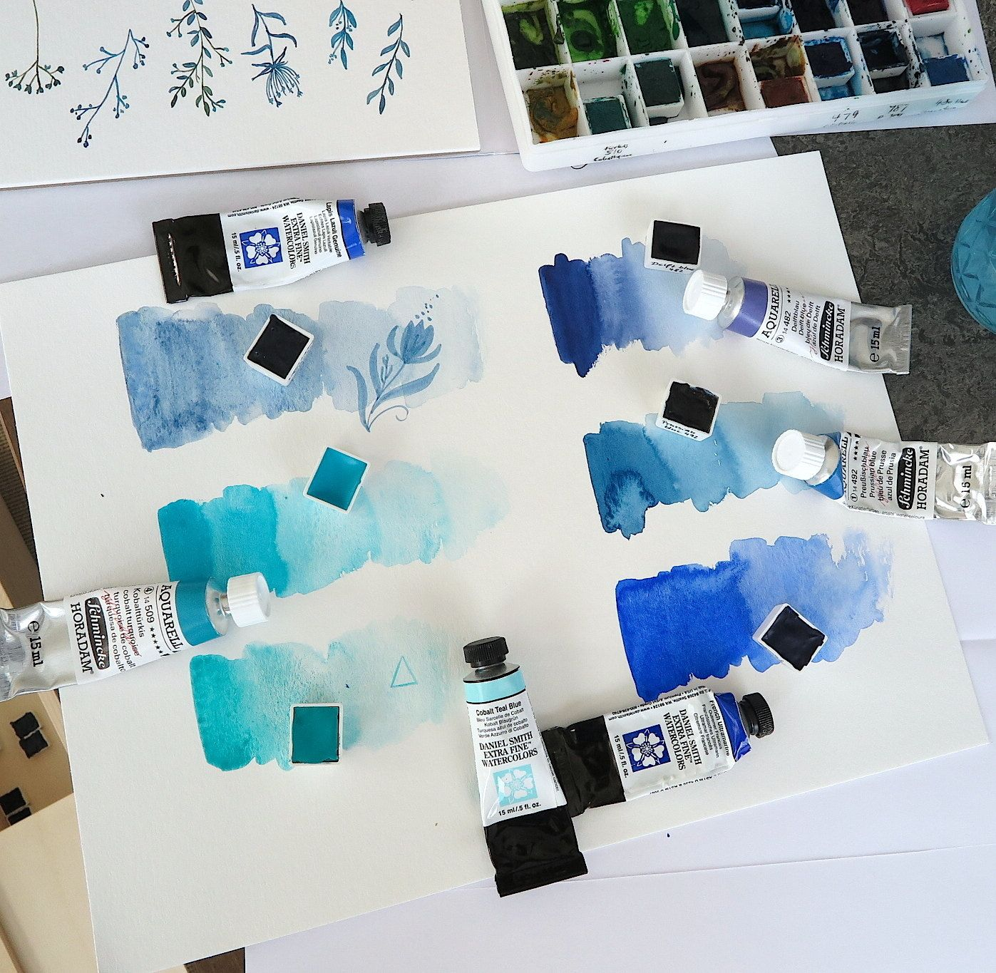 Image Result For Difference Between Schmincke Cobalt Turquoise And
