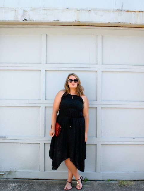 In Kinsey's Closet| The perfect black summer dress!