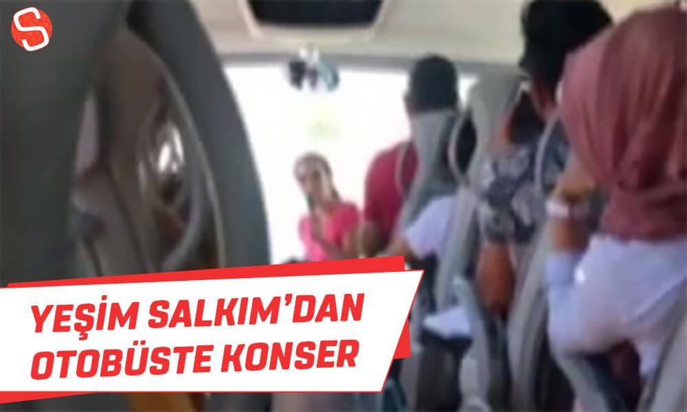Yesim Salkim Bodrum Istanbul Seferi Yapan Otobuste Sarki Soyledi Yesimsalkim Otobus Konser Sarkilar Otobus Istanbul