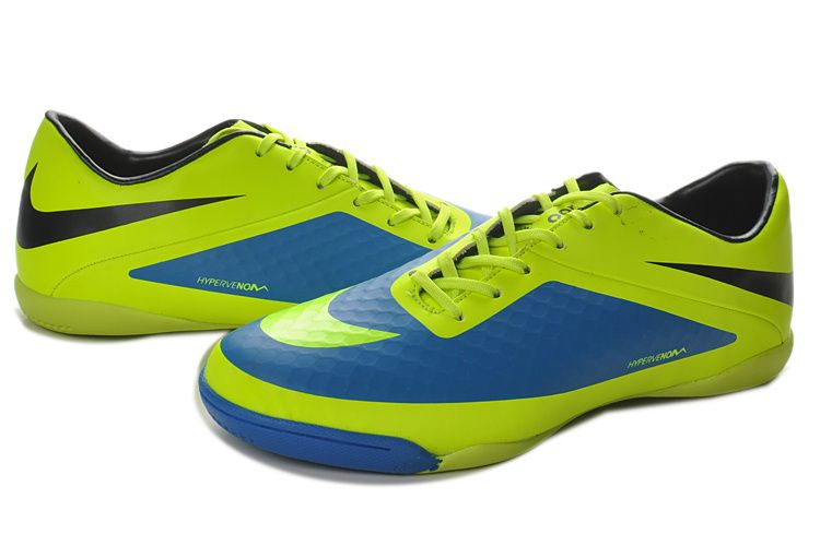0aea7b7e730 Nike Hypervenom Phelon Interieur Bottes Jaune Bleu €45.18. Cheap Soccer  Shoes ...