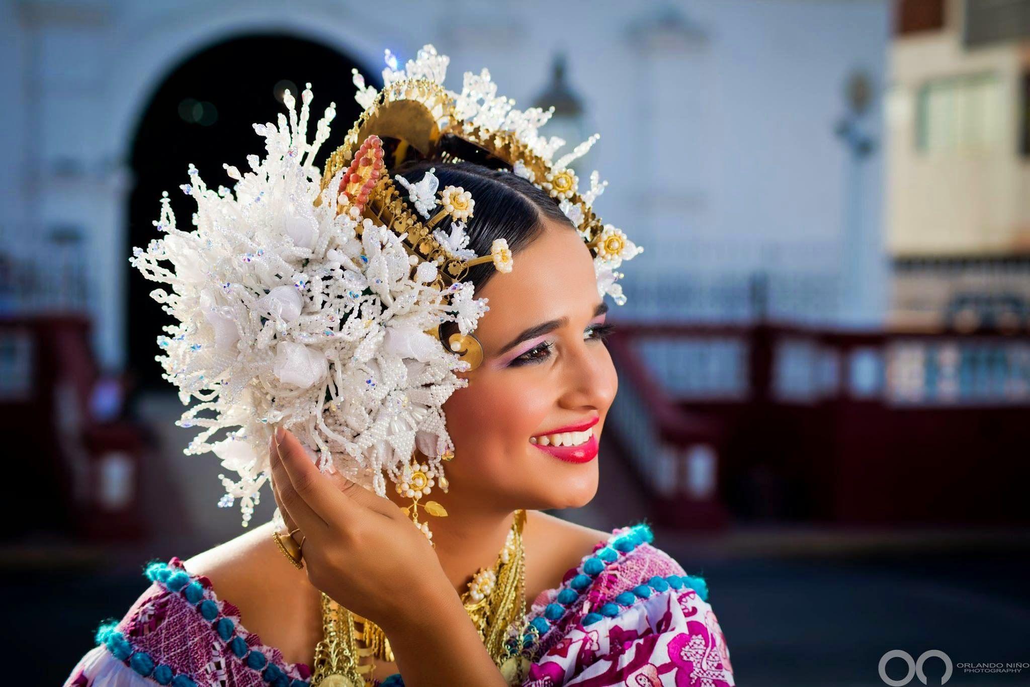 Nayleen-Quintero-Panama-Pollera Bella | Panama Culture ...