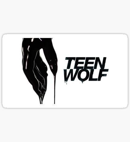Teen wolf sticker