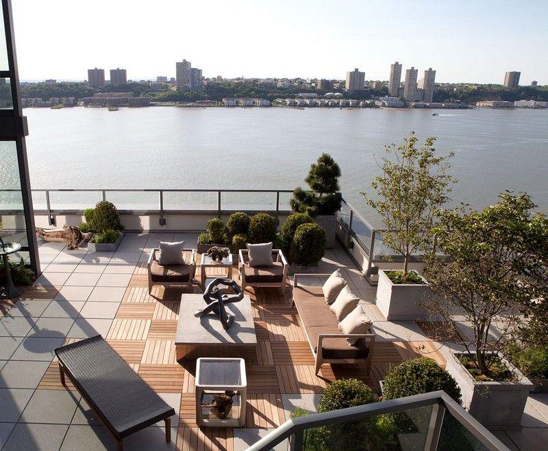 Immergrüne Pflanzen auf der Dachterrasse - modern und pflegeleicht ...