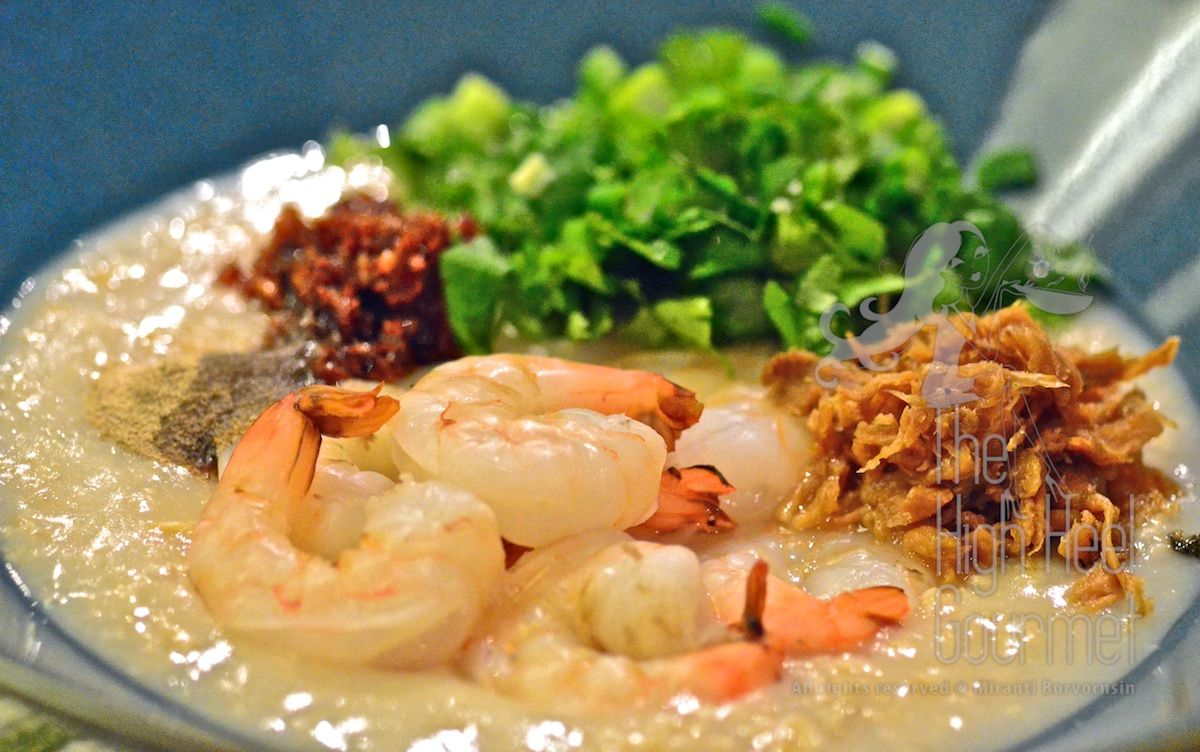 The Hearty Thai Style Porridge With Shrimps Khao Tom Goong Asian Recipes Everyday Food Hearty Meals