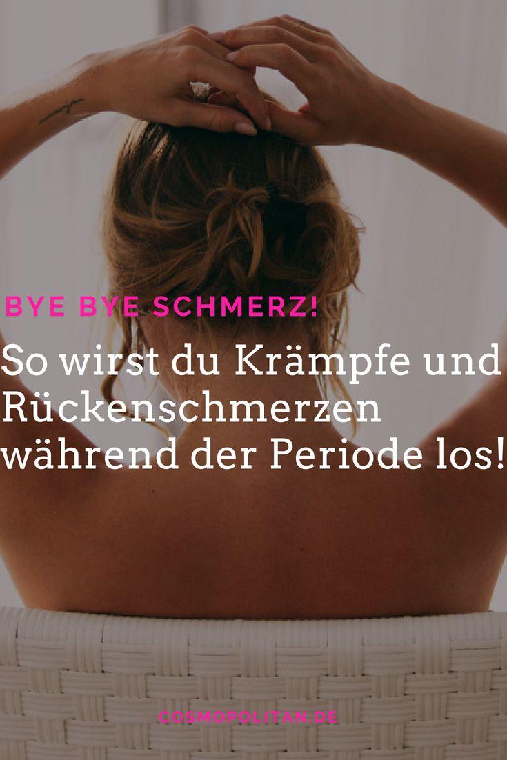 Rückenschmerzen während der Periode: Das hilft! (mit..