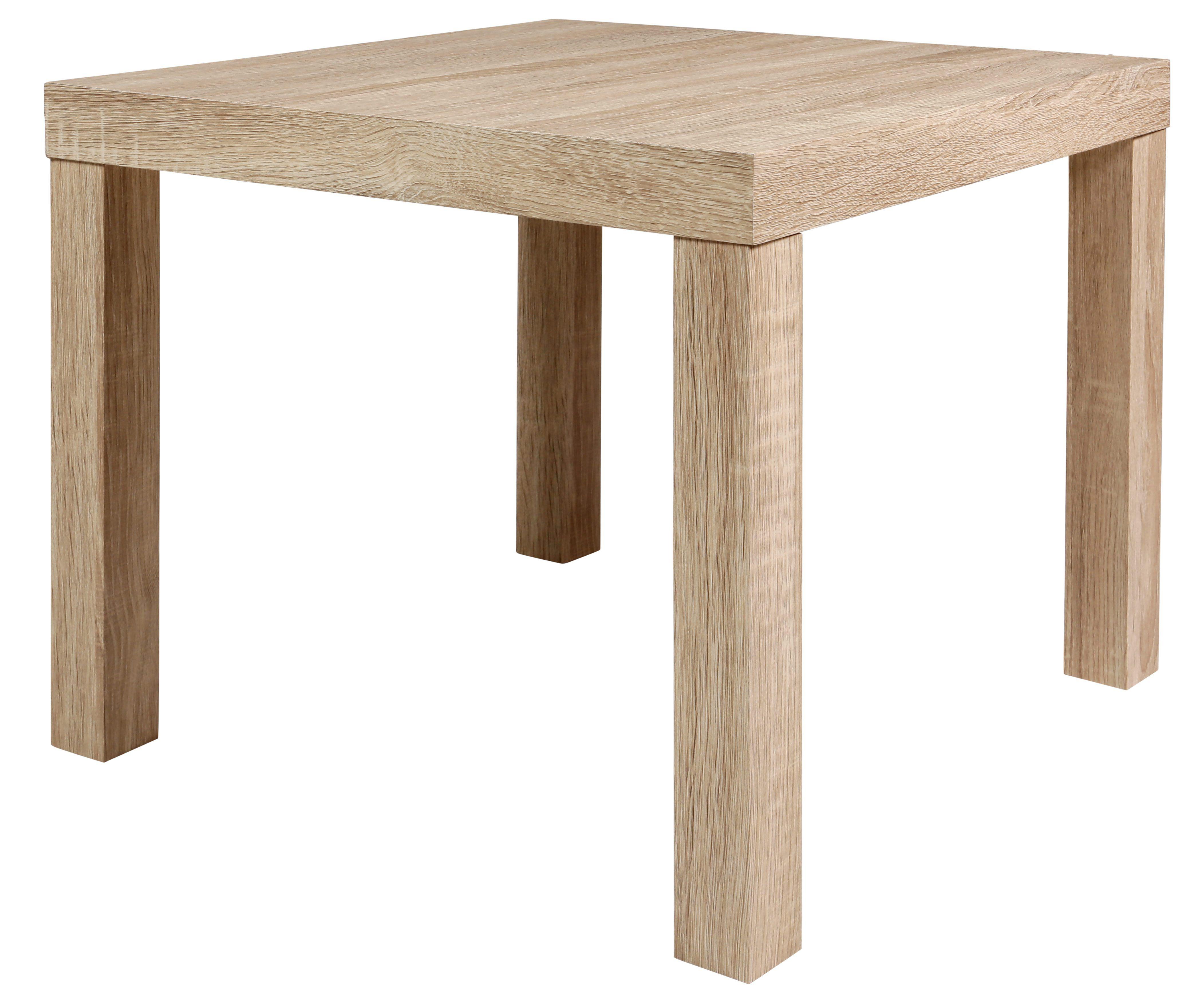 table basse carrée next 2 chêne sonoma