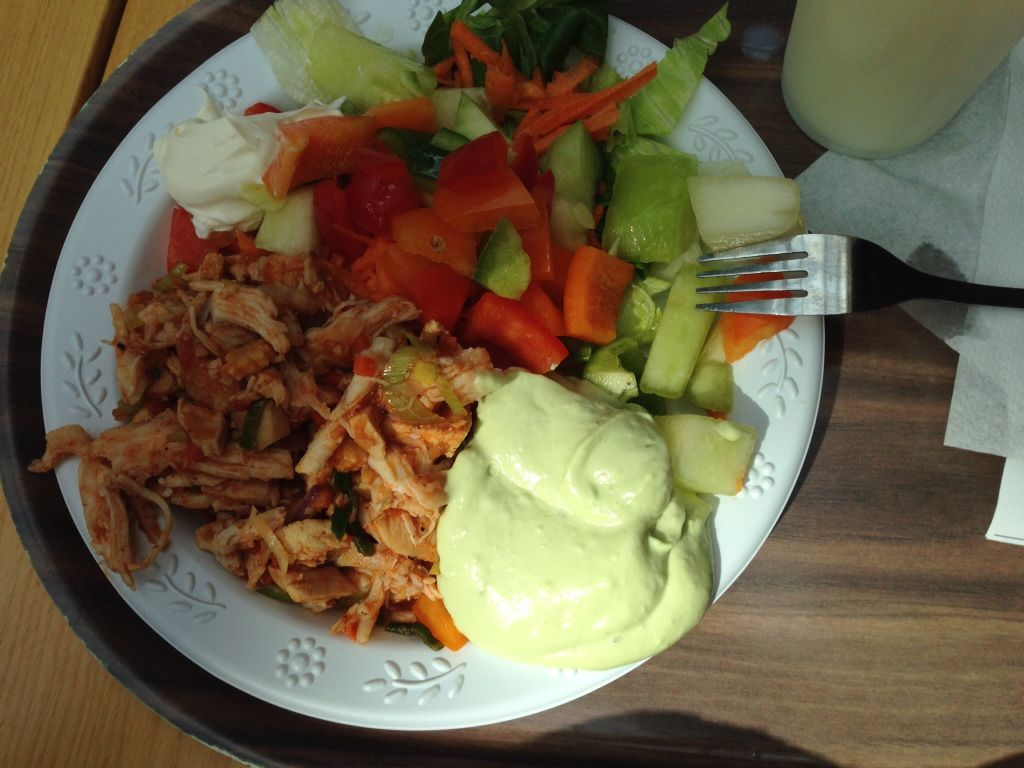 Go green - lunch