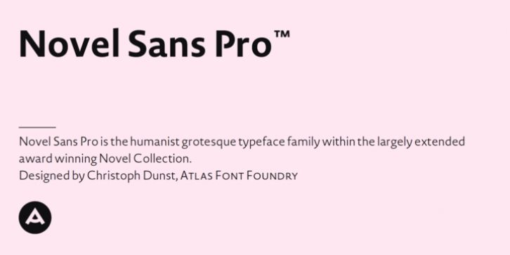 Novel Sans Pro™ font download Fonts Pinterest Fonts download