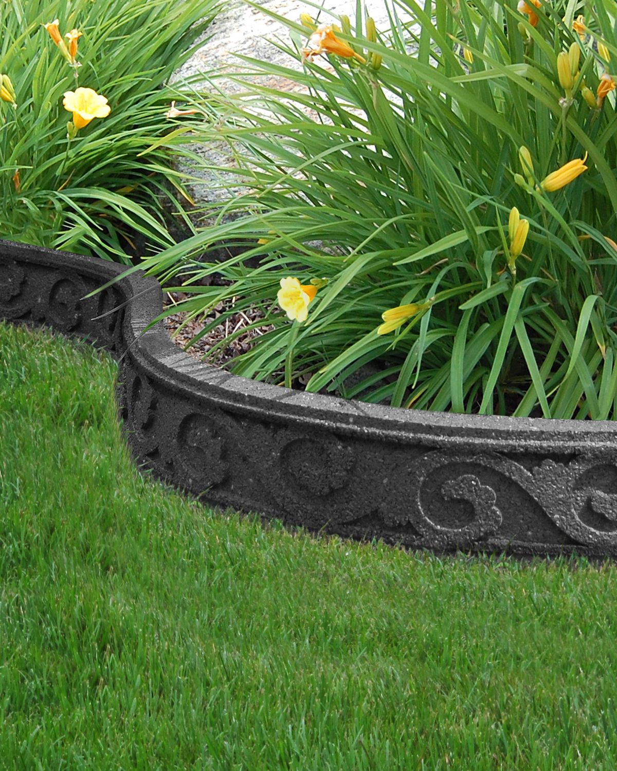 Ecotrend Flexi Curve Garden Borders Are Made Of Recycled Rubber