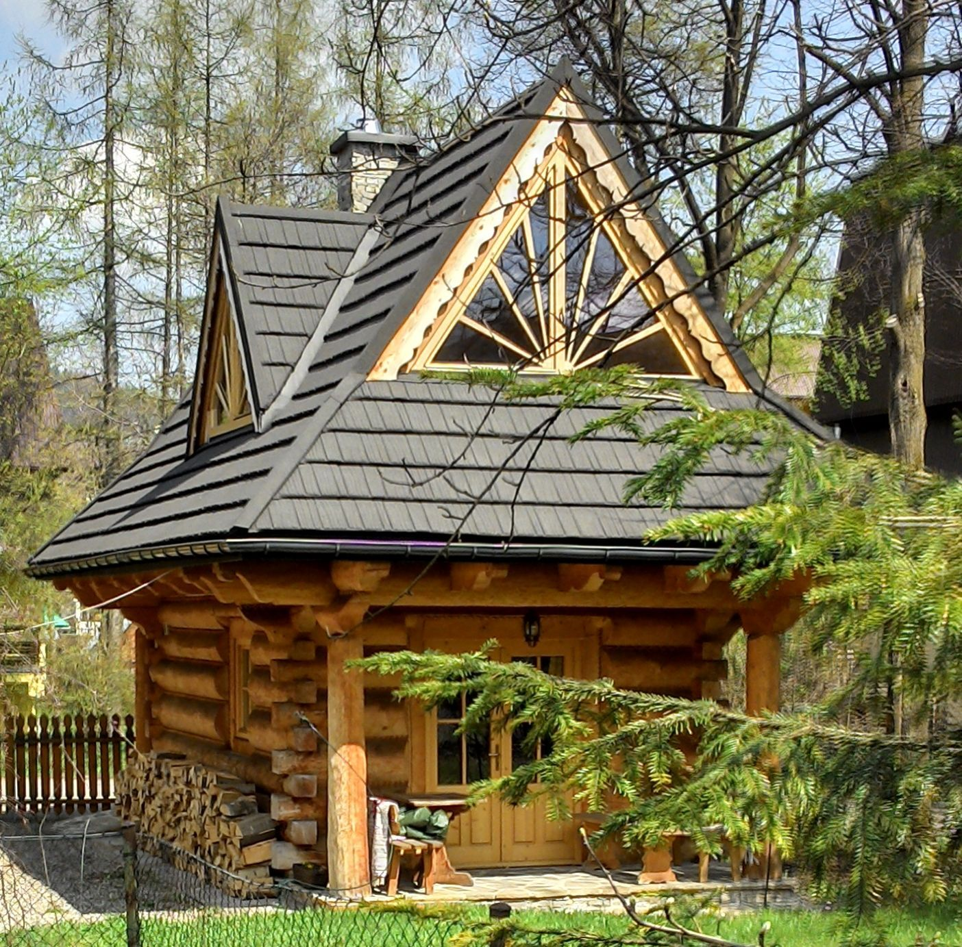 Little Log Houses ~ — The Little Log House Company #LogHouses | Log ...