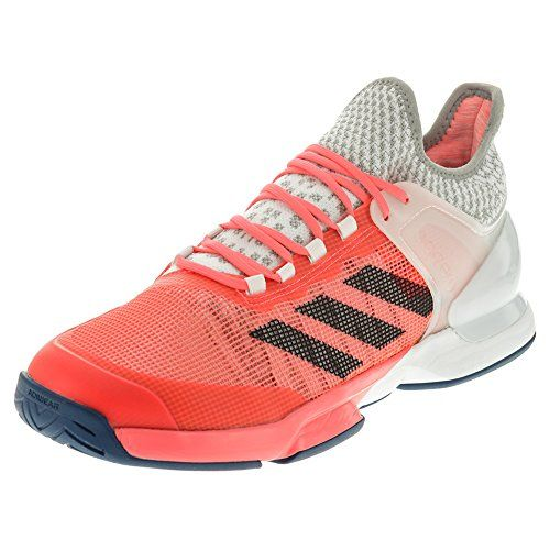 size 40 f56db 2d32d adidas Performance Mens Adizero Ubersonic 2 Tennis Shoe, Flash RedTech  SteelWhite, 10.5 M US  Want to know more, click on the image.