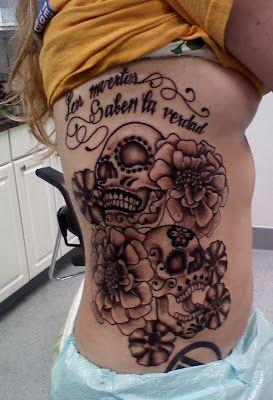 Feliz Día de los Muertos, Happy Calavera day - Tattoo