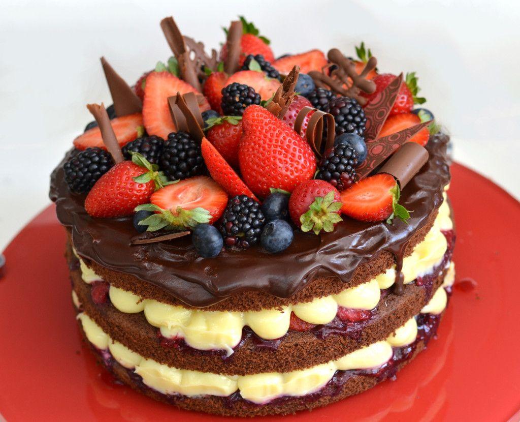 Receita simples: aprenda a fazer o naked cake, bolo mais