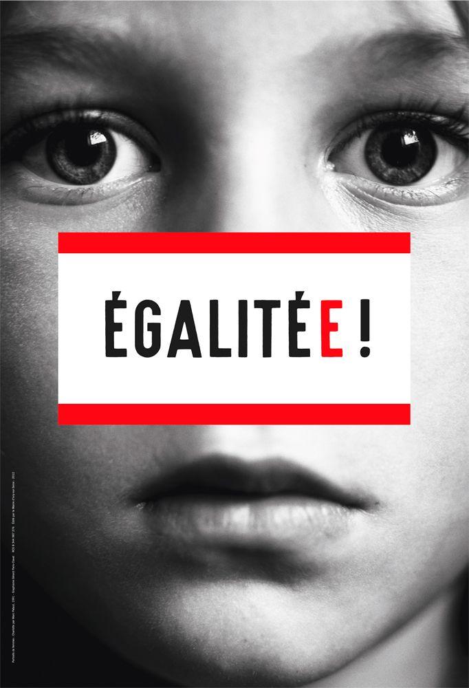 Egalitee Par Gerard Paris Clavel Affiches Politiques Sexisme Affiche