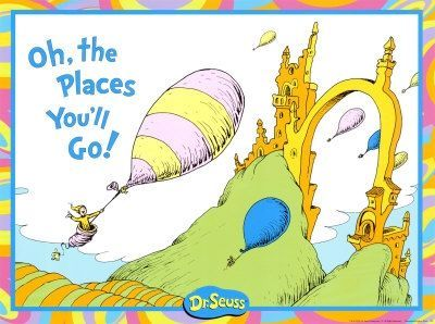 Fun Wedding Reading Oh The Places You Ll Go By Dr Seuss