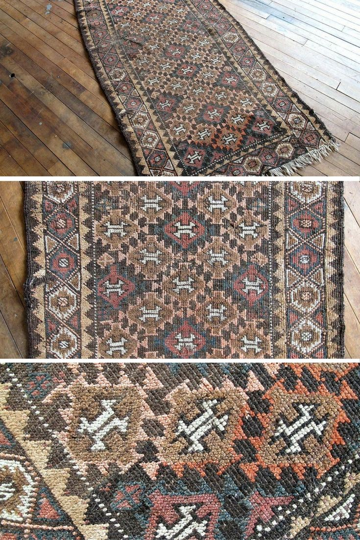 Vintage Kilim Runner rug https://sfrugs.com - Hallway runner rug, kitchen runner rug, bedroom runner rug, entry runner rug @sfrugsonline