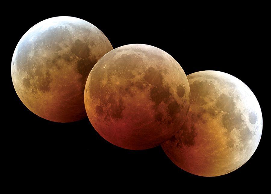 La noche del 27 de septiembre de 2015, sé testigo de la maravilla de un cielo que se vuelve a iluminar con una Luna de Sangre más hermosa que nunca