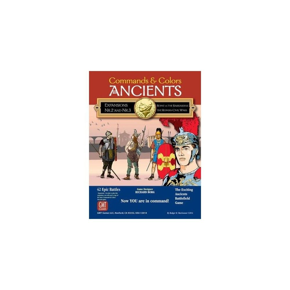English Edition New by GMT Expansions 2 /& 3 Commands /& Colors: Ancients