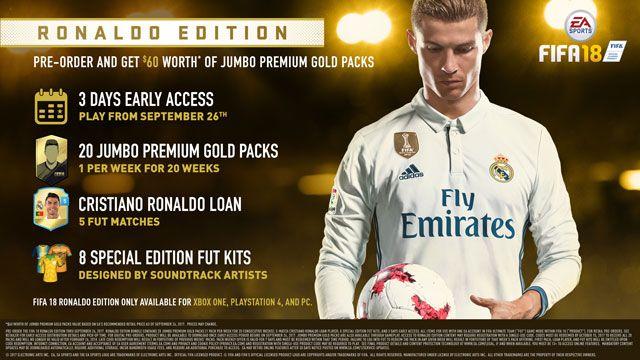 FIFA 18 Cristiano Ronaldo Edition