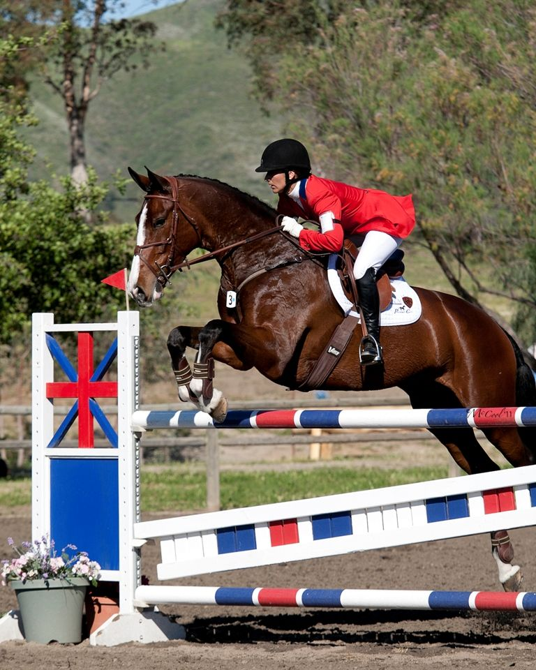 Eventer Gina Miles And Chanel Sporting Ventech Leather