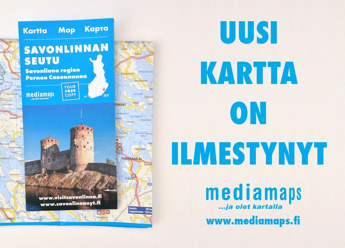 Uusi Savonlinnan Seudun Kartta On Matkailijan Apuna Free