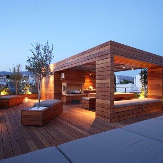 Terrace Garden Ideas In Hyderabad Kitchen For Your Rooftop: Um Espaço De Contemplação... #arquitetura #architecture